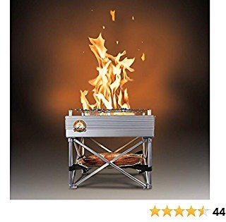 Trailblazer - Leave No Trace Portable Camp Stove/Fire Pit | 3 Lbs Total Weight | 12