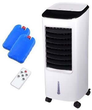 Yescom 65W Evaporative Air Conditioner Cooler Energy Saving Fan Humidifier with Remote Control Ice Boxes Indoor Home Office Dorm