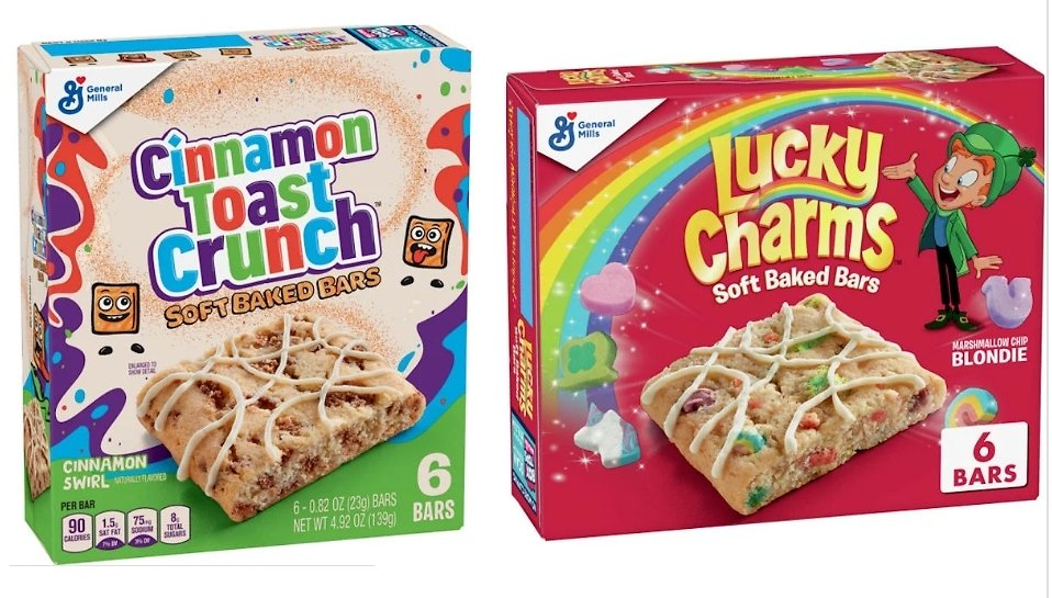 Free Lucky Charms or Cinnamon Toast Crunch Soft Bars