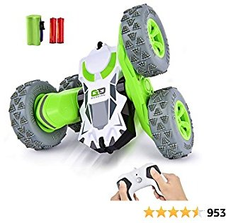 Remote Control Cars   RC Car Toys 4WD Stunt Car 360° Rotating Toy CRADREAM 2.4GHz Remote Controls 4 7 Years Old Boys Kids CRADREAM Gifts Toys Car
