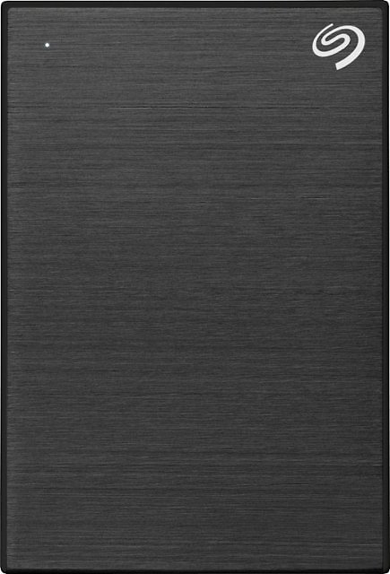 Seagate One Touch 1TB External USB 3.0 Portable Hard Drive with Rescue Data Recovery Services Black STKB1000400