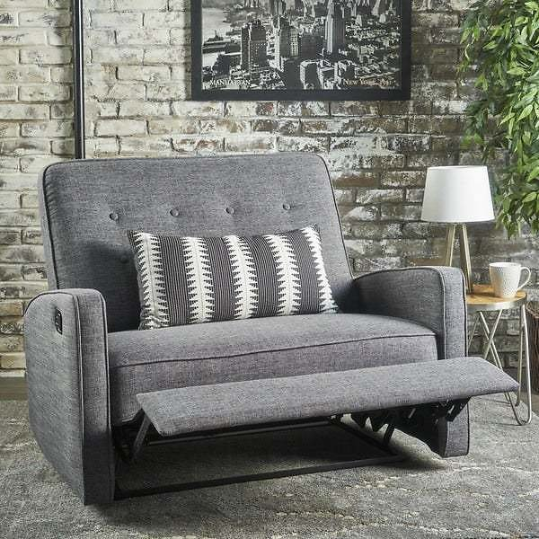 Calliope Fabric Oversized Recliner Chair