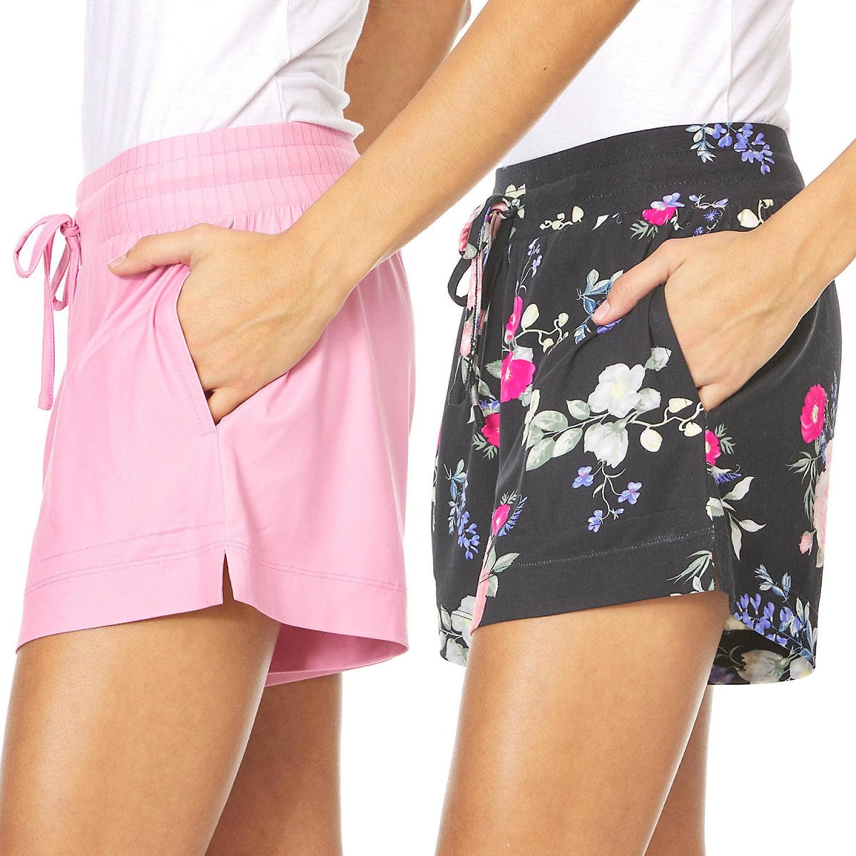 2-Pack Flora Ladies Sleep Shorts (Mult. Styles)
