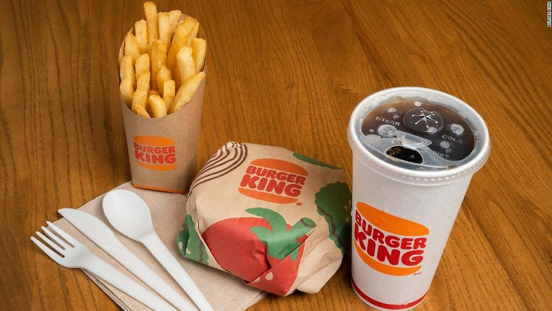 This Is What Burger King's Experimental New Packaging Looks Like