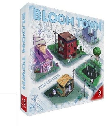 Bloom Town Strategy Board Game