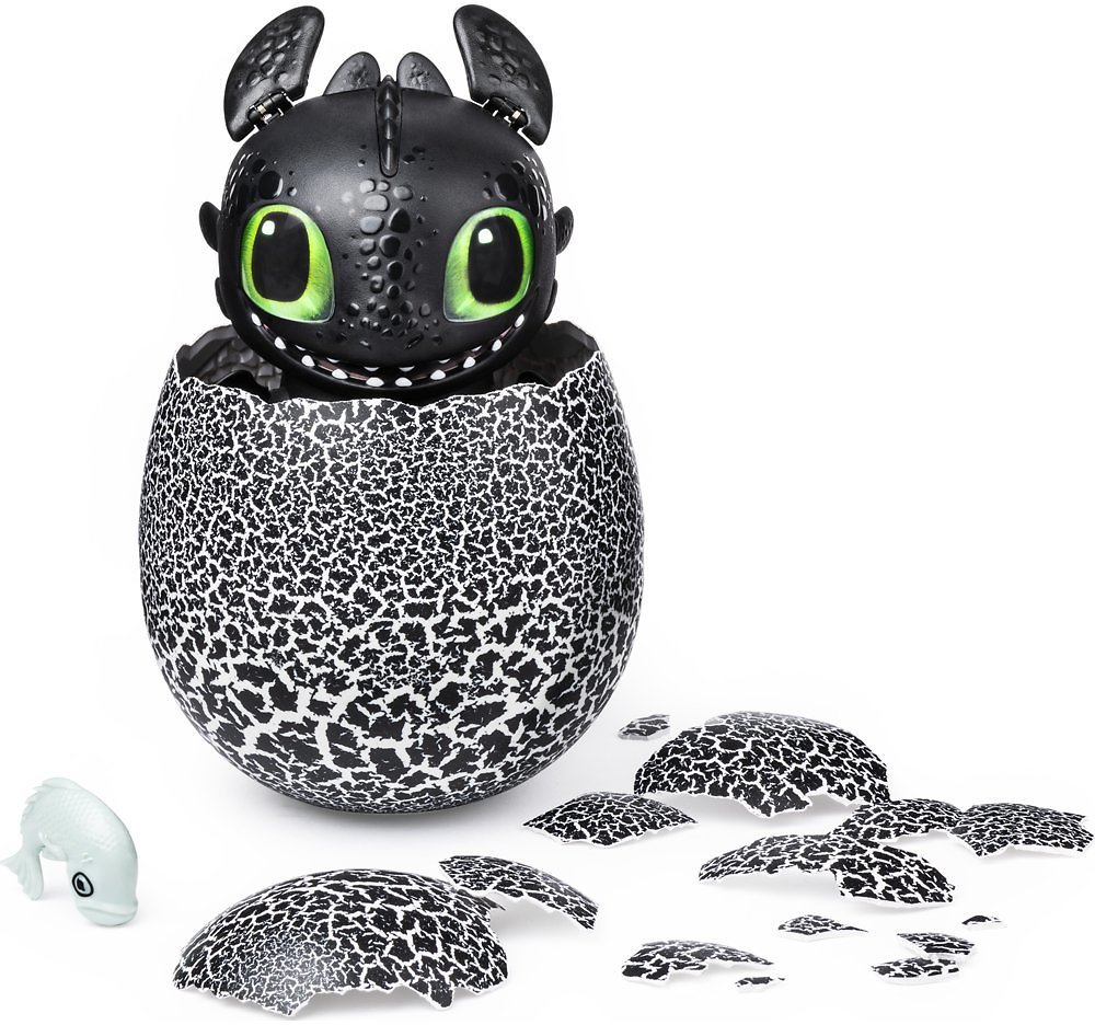 DreamWorks Hatching Toothless Baby Dragon