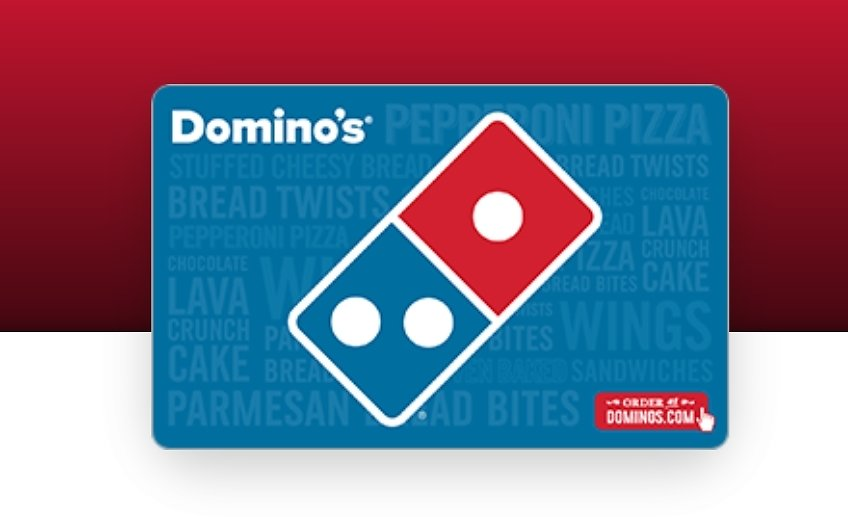 FREE $5 Domino's Pizza Bonus Card w/ $25 Gift Card Purchase
