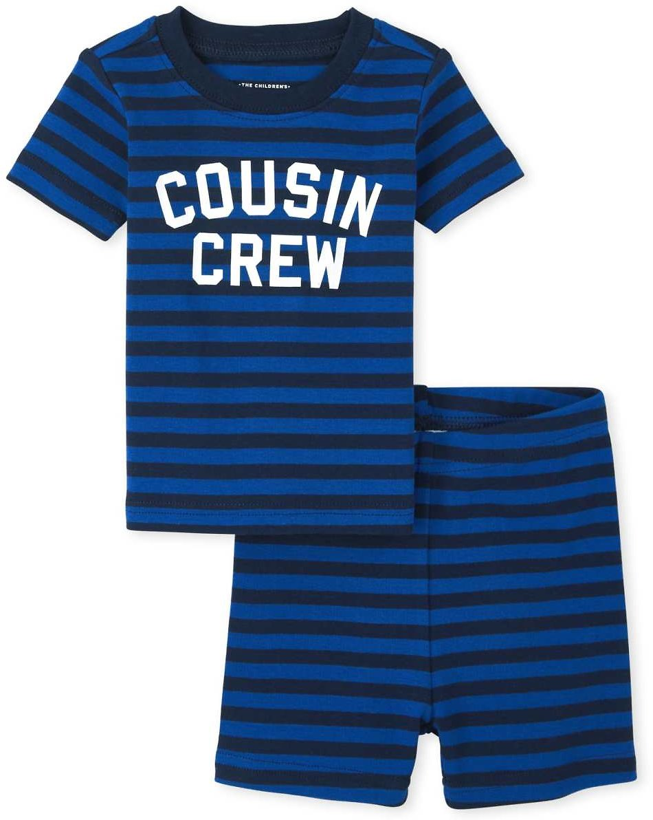 Baby And Toddler Boys Cousin Crew Snug Fit Cotton Pajamas
