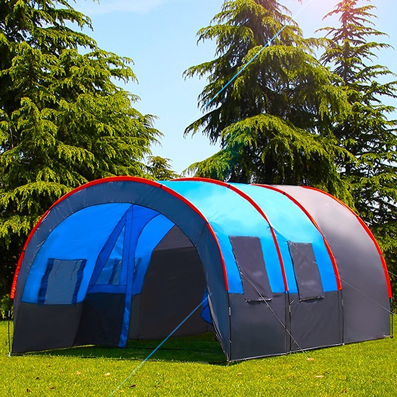 2-Layer Oxford Cloth Portable Outdoor Large Tent