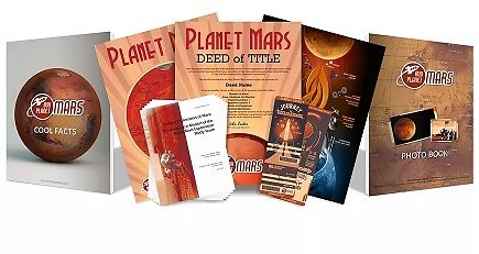 One Acre of Planet Mars