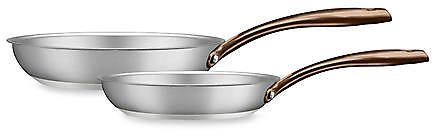 Today Only! Fleischer and Wolf™ London 2-Piece Frying Pan Set