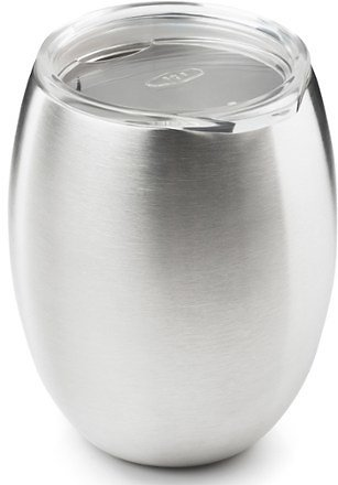 Glacier Stainless Double-Wall Wine Glass