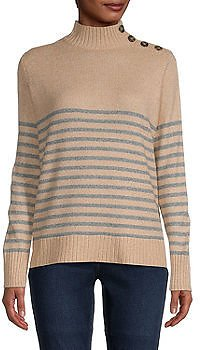 Womens Mock Neck Long Sleeve Pullover Sweater