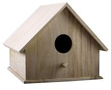 Smooth Roof Birdhouse By ArtMinds®