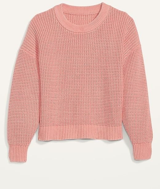Acid-Wash Shaker-Stitch Sweater for Women | Old Navy