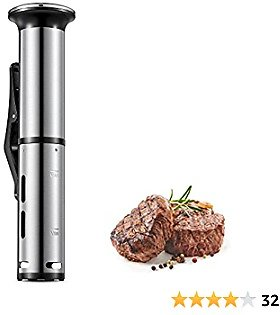 Sous Vide, AICOOK 1000W Fast Heating and Quiet Operation Sous Vide Cooker..