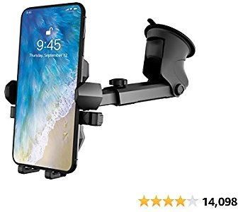 Phone Holder for Car,Universal Long Neck Car Mount Holder Compatible with IPhone Xs..