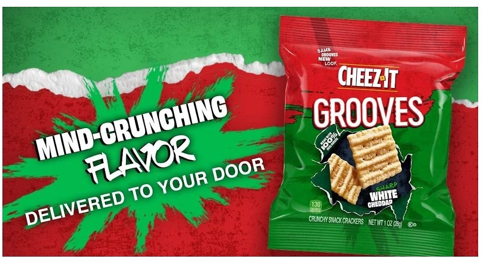 Free Sample of Cheez-It Grooves