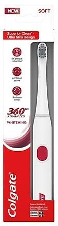 4-Pack Colgate 360 Advanced Whitening Electric Toothbrush
