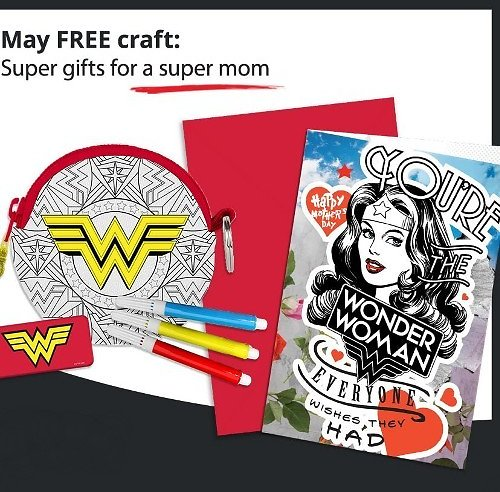 Free 'Super Gifts for Mom' Craft Event