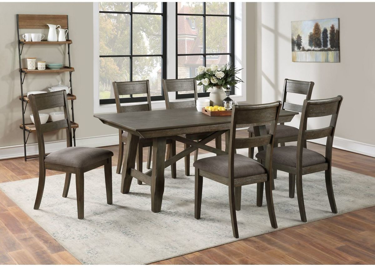Alex 7-Pc. Dining Set With White Glove Delivery
