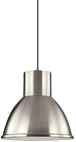 47% Off TODAY ONLY! Sea Gull Lighting Division Street LED Brushed Nickel Pendant-6517493S-962