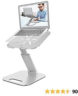 Laptop Stand for Desk, Height Adjustable Up to 20