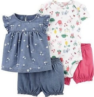 Carters Kids 4 Piece Set for $14.99