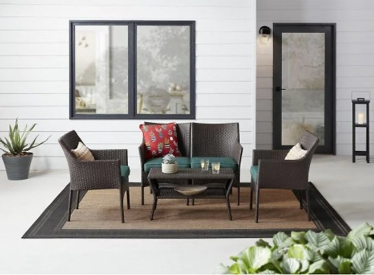 StyleWell Terrace View 4-Pc Conversation Seating Set