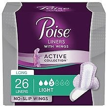 Poise Light Absorbancy Incontinence Liners