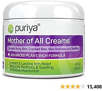 Puriya Daily Moisturizing Cream for Dry, Itchy and Sensitive Skin, Face and Body, Mother of All Creams for Extra Care of Skin's.