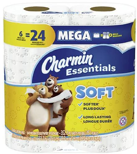 $3.95 Bounty & Charmin Paper Products