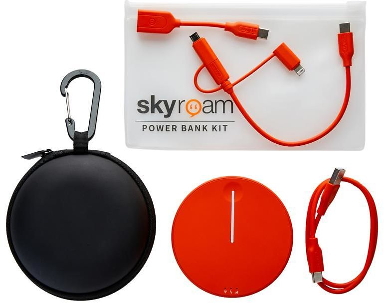 Exclusive! Skyroam Solis Lite 4G LTE Wi-Fi Hotspot with Built-In Powerbank & Case