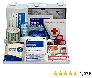 178-Piece Contractor's First Aid Kit