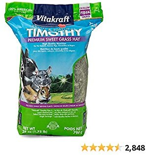 Vitakraft Timothy Hay - We Have One Happy Bunny!! She Love This Hay!!