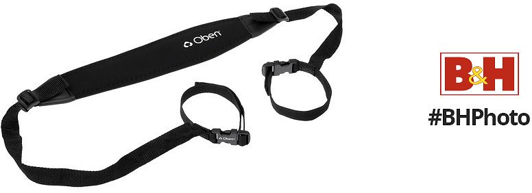 Oben TS-20 Tripod Strap with Two Quick Release Loops (Black)
