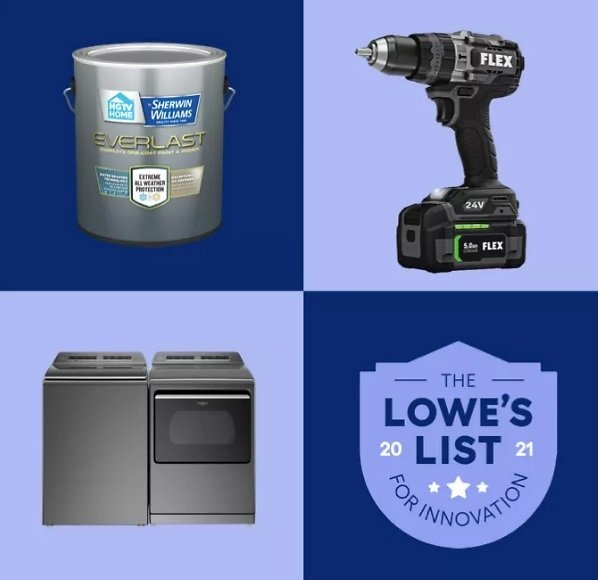 Complete Lowes List for Innovation Savings