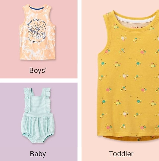 Cat & Jack Clothing Sale From $4.00 + $10 Off $40 - Target