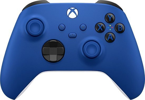 Microsoft Controller for Xbox Series X, Xbox Series S, and Xbox One (Latest Model) Shock Blue QAU-00001