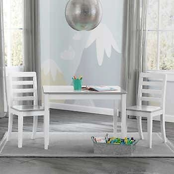 Zander Kids Table with 2 Chairs