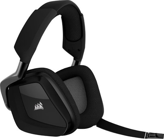 CORSAIR VOID RGB ELITE Wireless Stereo Gaming Headset Carbon CA-9011201-NA