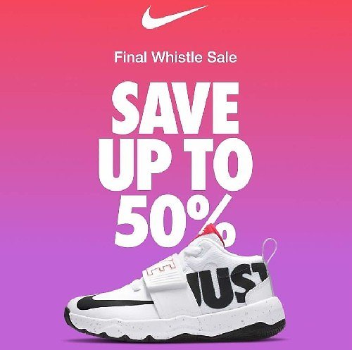 Up To 50% Off Last Chance Sale + F/S