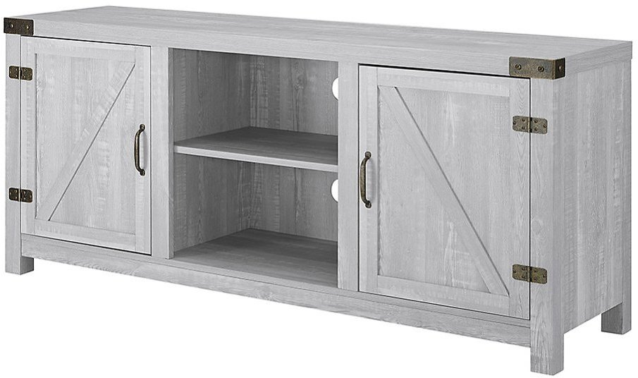 Love This Product Stone Gray Barn Door TV Console