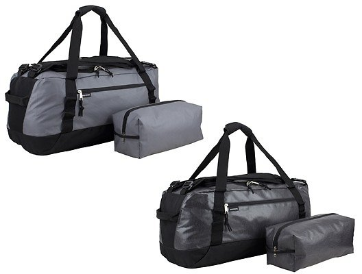 2 Pack Large Convertible Lightweight 2-In-1 Duffel Bag Backpack