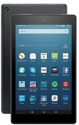Amazon Fire HD 8 Tablet - 2016 Model (Includes Special Offers), 8