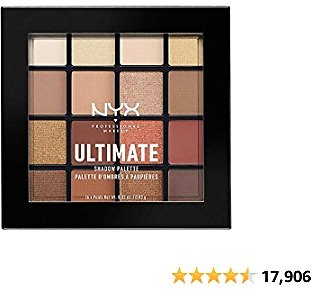 NYX PROFESSIONAL MAKEUP Ultimate Shadow Palette, Eyeshadow Palette