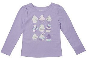 Epic Threads Little Girls Long Sleeve Graphic Tee