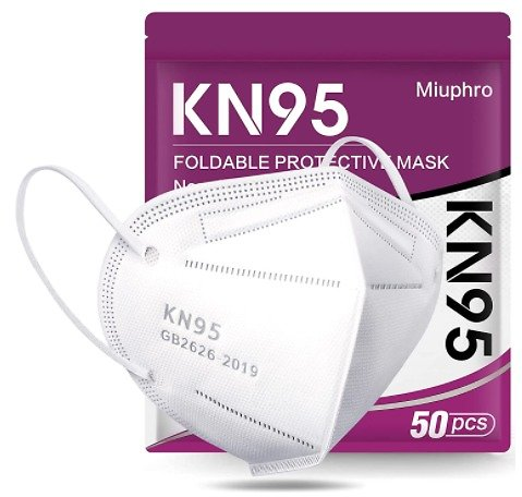 50-Pack KN95 Face Mask