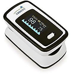 Innovo Deluxe IP900AP Fingertip Pulse Oximeter with Plethysmograph and Perfusion Index (Off-White with Black): Health & Personal Care