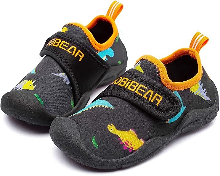 40% Off + Free Shipping Amazon Unisex Boys Girls Water Shoes Quick Dry Closed-Toe Aquatic Sport Sandals Toddler/Little Kid